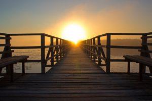 beach-bench-boardwalk-bridge-276259